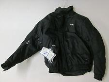 Nitro N-65 Waterproof Black Textile Motorcycle Jacket (SMALL)