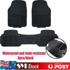 For Subaru Impreza Outback Black Auto Floor Mat Abrasion Water Dust Resistancex3