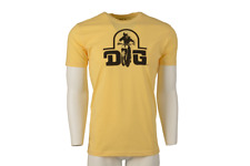 DG MX T Shirt, DG Performance Logo,Yellow ,Size: Large, Authentic, Vintage MX
