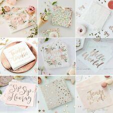 40 x Cream//Chanpagne 3 Ply Paper Napkins 40cm x 40cm Party Serviettes Tableware