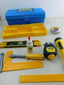 Kids Play Pretend Tools Toolbox & Tools