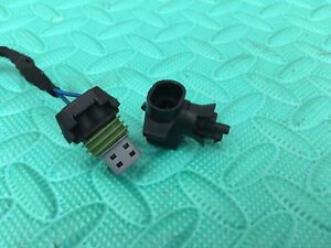 GENUINE VAUXHALL ASTRA VECTRA CORSA AMBIENT OUTSIDE TEMPERATURE SENSOR+PLUG
