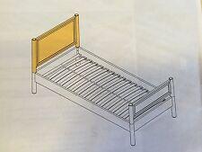 FLEXA  NATURAL BUNK TWIN BED HEAD BOARD - FLEXA #7961013