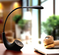 3D lantern Light Dimmable touch Rechargeable LED Desk night Lamp Soft & Pliable
