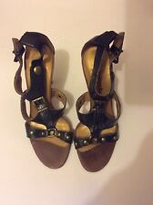 Ladies Strap High Heels Shoes....size 6