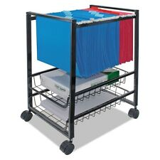 Advantus Mobile File Cart with Sliding Baskets - 34075