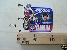 STICKER,DECAL TETSUMI MITSUYASU YAMAHA MOTOR MOTOCROSS 125CC MX