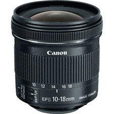 Canon EF-S 10-18mm f/4.5-5.6 IS STM Lens for Canon DSLR Cameras - NEW!