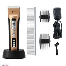 Animal Clippers Heavy Duty Quiet Dog Groomer Cordless Professional Pet Shears