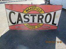 CASTROL ENAMEL SIGN