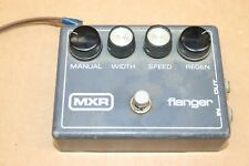 Vintage Dunlop MXR Flange Flanger Effects Foot Pedal