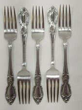 5 Dinner Forks Oneida PLANTATION Community Stainless 7 1/4""