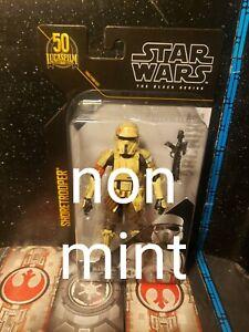 "Star Wars 6"" Black Series Archive SHORETROOPER (SCARIF) **damaged packaging***"