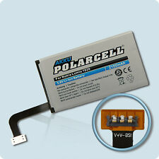 PolarCell Akku für Nokia Lumia 1020 Lumia 909 BV-5XW 2100mAh Batterie Accu Acku