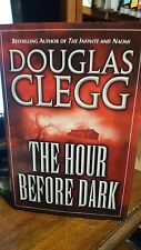The Hour Before Dark by Douglas Clegg (2002, Hardcover) Signed 1st/1st