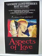 ASPECTS OF LOVE Herald ANDREW LLOYD WEBBER Merriam Theatre PHILADELPHIA PA 1992