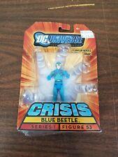 "DC Universe Infinite Heroes 3.75"" Figure Crisis Blue Beetle Series 1 Figure 53"