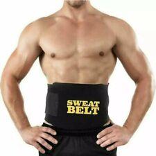 Sweat Belt Men Women Tummy Waist Cincher Waist Trainer Hot Body Shaper Slim UK