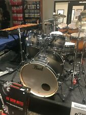 """NIB"" Pearl Decade Maple 5pc Fusion Drum Set Satin Black Burst w/ Hardware"