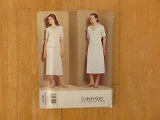 Vogue American Designer Sewing Pattern Calvin Klein (2452) 14-16-18 Uncut