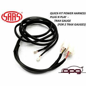 SAAS SGH6003 Quick Fit Power Plug & Play Harness for Mitsubishi Triton MQ Trax