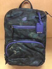 Tumi HALLE BACKPACK Luggage Laptop Bag Pine Floral Print 484758PFL $295
