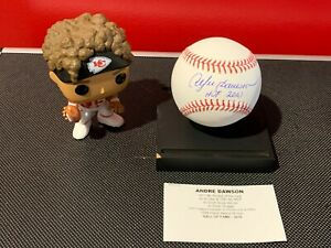 Andre Dawson Signed Official Major League Baseball Tri Star Hologram!