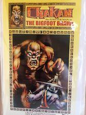 Chakan the Forever Man - The Bigfoot Brawl - Graphic Novella - By Rak