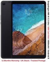 "Xiaomi Mi Pad 4 Tablet 8"" Snapdragon 660 2.2GHz 64GB + 4GB RAM WFI + SIM"