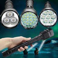 90000LM LED Light Flashlight Tactical 16x T6 LED 5Modes 18650 Torch Lamp Light