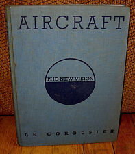 Le Corbusier Aircraft The New Vision L'avion Original 1935 HC Studio Airplanes