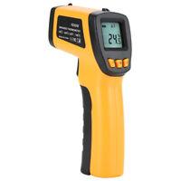 Sin contacto LCD IR infrarrojo digital temperatura termómetro pistola