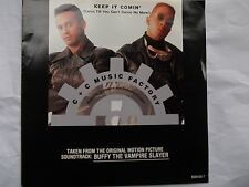 C+C Music Factory- Keep It Comin - From Buffy the Vampire Slayer O.S.T. / mint