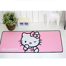 Hello Kitty Long Gaming Mouse Pad 30 x 11.8in (78 x 30cm) - Soft Pink