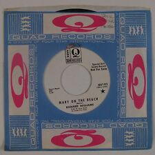 RICHARD WILLIAMS: Mary on Beach QUAD Soul 45 Promo DJ Orig NM Hear