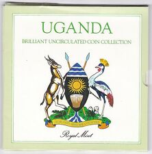 1987 Uganda Brilliant Uncirculated Coin Set | Pennies2Pounds