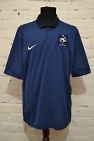 FRANCE NATIONAL TEAM 2013/2014 HOME FOOTBALL SHIRT SOCCER JERSEY MAILLOT MENS XL