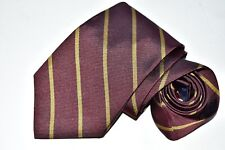 Men's Paul Fredrick Red Silk  Neck Tie Made in USA
