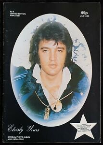 Vintage Limited Edition Elvisly Yours Elvis Magazine #4 Christmas Edition 1981
