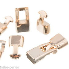 JP 10Sets Rose Gold CCB Plastic Toggle Clasps For Necklace Bracelet DIY