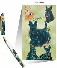 New Scottish Terrier Pet Dog Designer Pen - 50 Pens - By Ruth Maystead