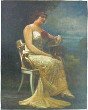 Originale künstlerische Öl-der Zeit 1900-1949 Malereien von Porträts & Personen