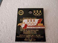 "Vintage 1996 Atlanta Summer Olympic Games U.S.A. ""U.S. Olympic Team"" EAGLE pin"