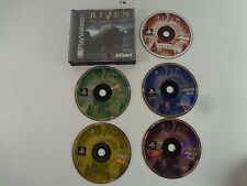 RIVEN THE SEQUEL TO MYST PLAYSTATION 1 One **FREE SHIPPING** No manual
