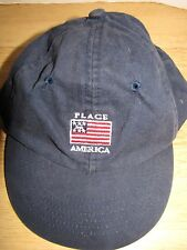 Children's Place Baseball Cap Size 12-24 Months 100% Cotton American Flag Navy