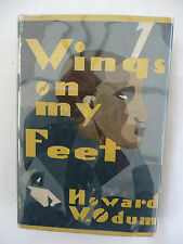 WINGS ON MY FEET by Howard W Odum - First Edition Hardback 1929