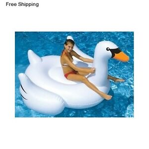 Pool Floats For s Large Inflatable Women Men Girls Swan In Or Above Ground