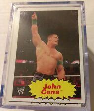 WWE 2012 Topps Heritage 110 Card Base Set John Cena Daniel Bryan