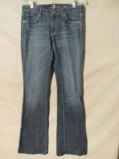 F1096 7 For All Mankind 'A' Pocket High Grade Stretch Jeans Women's 30x34