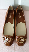 New Michael Kors Fulton brown leather shoes.US10.RT$99.